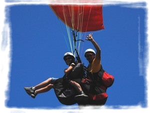 Vol Biplace initiation Parapente